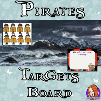 Pirate Classroom Targets Board