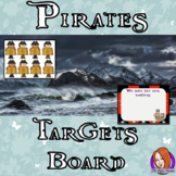 Pirate Classroom Targets Board