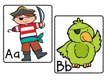Pirate Classroom Theme Materials