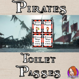 Pirate Classroom Toilet Passes