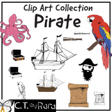 Pirate Clip Art Collection #TpTFireworks