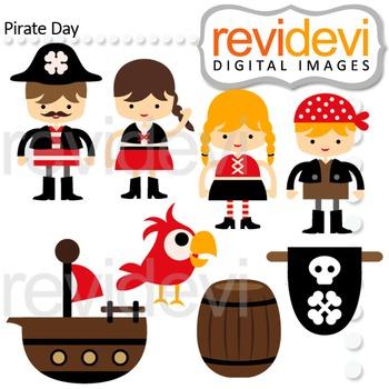 Pirate Clip Art - Cute clipart