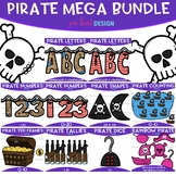 Pirate Clip Art - Pirate Mega Growing BUNDLE {jen hart Clip Art}