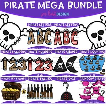 50% OFF Pirate Clip Art - Pirate Mega Bundle {jen hart Clip Art}