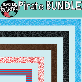 Pirate Kids Clipart BUNDLE