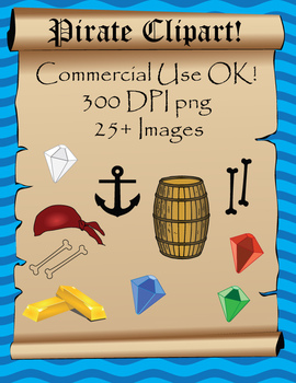 Pirate Clipart - Commercial Use OK!