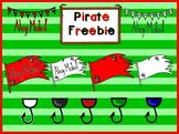 Pirate Clipart Freebie