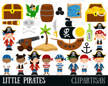 Pirate Clipart, Pirates Clip Art