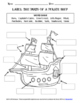 Pirate Close Reading and Activity Packet