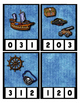 Pirate Clothes Pin Clip Cards Counting to 20 Math Center Fun