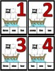Pirate Clothespin Task Card Number Activity