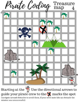 Pirate Coding Game - Unplugged