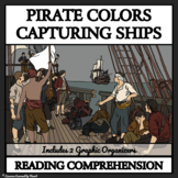 Pirate Colors and Capturing Ships - Reading Comprehension