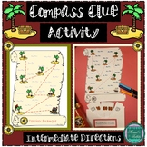 Pirate Compass Clue Activity