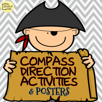 Pirate Compass Directions Activities and Posters