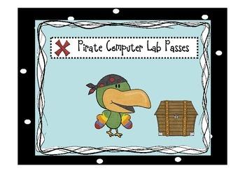 Pirate Computer Passes