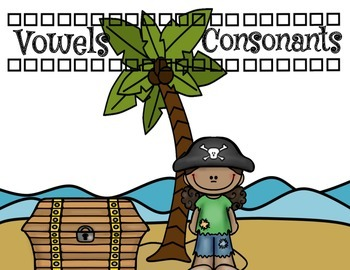 Pirate Consonant and Vowel Sort