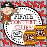 Pirate Context Clues   Pirate Talk