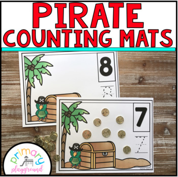 Pirate Counting Mats 1 - 20