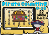Pirate Counting ~ Ten Frames ~ Numbers 0-10 ~ BOOM Cards ~