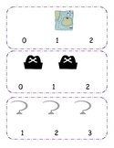 Pirate Counting clip cards