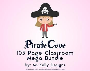 Pirate Cove 105 Page Classroom Mega Bundle Set
