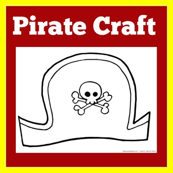Pirate Craft | Pirate Activity | Pirates Kindergarten | Pirates Preschool