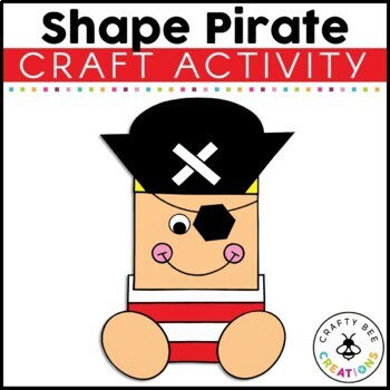 Pirate Craft {Shape Pirate}