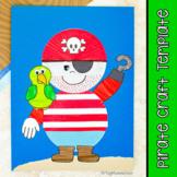 Pirate Craft & Template