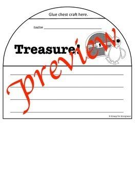 Pirate Craft and Treasure Chest Writing