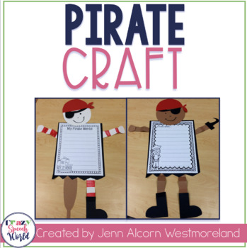 Pirate Craft Activities for Speech Therapy