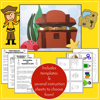 Pirate Craftivity & Worksheets