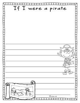 Pirate (Creative Writing/ Art)