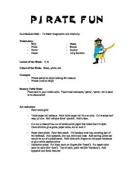Pirate Curriculum Ideas