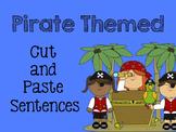 Pirate Cut and Paste Sentences