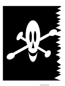 Pirate Cutouts