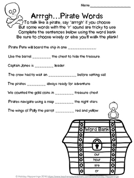 Pirate Day: 2nd-4th Math & LangArts (Perimeter, Money, Problem Solving, Writing)