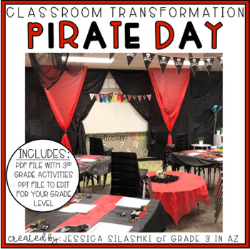 Pirate Day: Classroom Transformation Pack