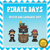 Pirate Days: Articulation and Language Pirate Themed Activities