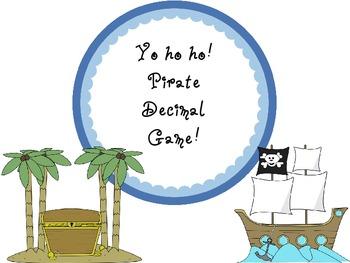 Pirate Decimal Game