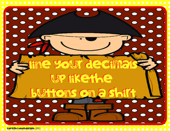 Pirate Decimals- Subtracting Decimals