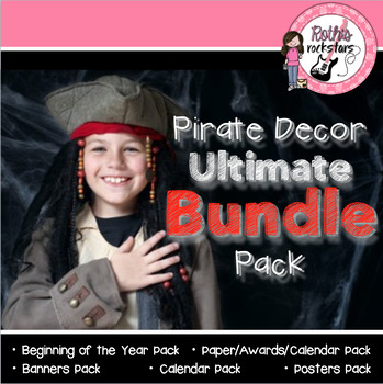Pirate Decor BUNDLE Pack