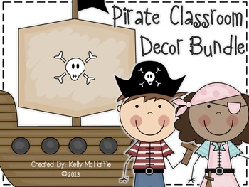 Pirate Decor Bundle