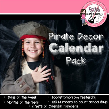 Pirate Decor Calendar Pack