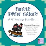 Pirate Decor Galore: A Growing Bundle (Behavior Chart/AR C