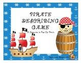 Pirate Describing Game: A Companion to Pop-Up Pirate