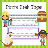 Classroom Decor Pirate Name Plates