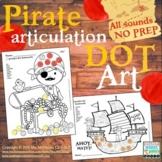 Articulation Dot Art Pirates {all sounds and NO prep!}