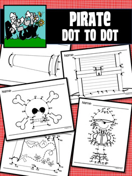 Pirate Dot to Dot / Connect the Dots 1-10, 1-20, 1-75, 5-1