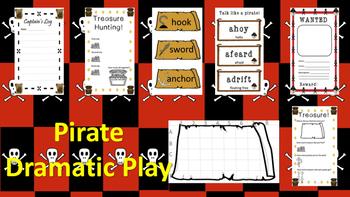 Pirate Dramatic Play Kit